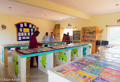 Nirmala Vidyalaya School, Library